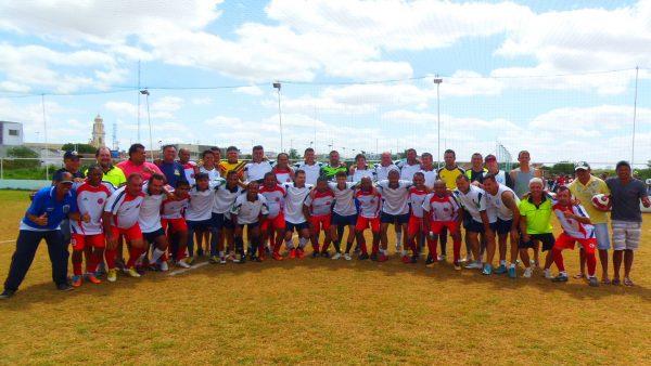 Em jogo festivo, Veteranos de Serra Branca vence a seleção de ex-atletas do futebol paraibano
