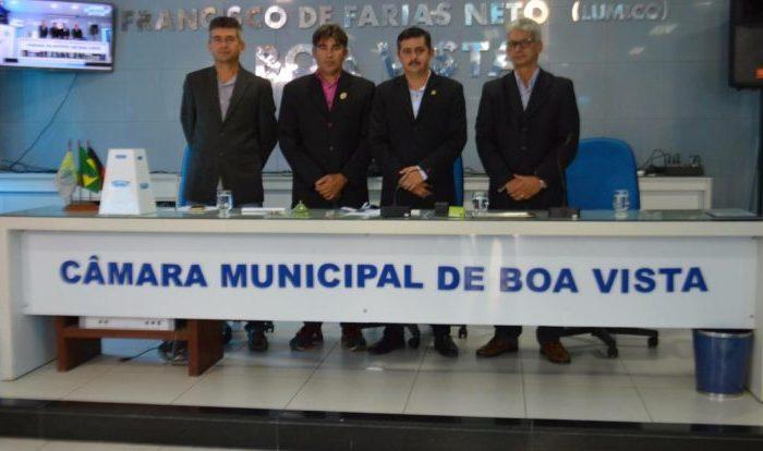 Fernando Aires é reconduzido pela terceira vez à presidência da Câmara de Boa Vista