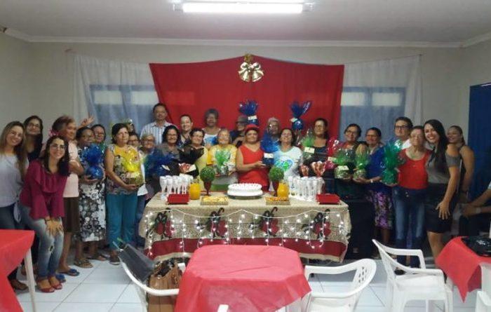 Grupo de Idosos Alegria de Viver finaliza atividades do ano com confraternização