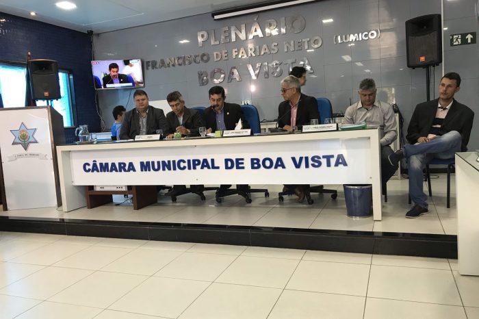 Prefeito participa da última sessão do ano na Câmara de Vereadores de Boa Vista
