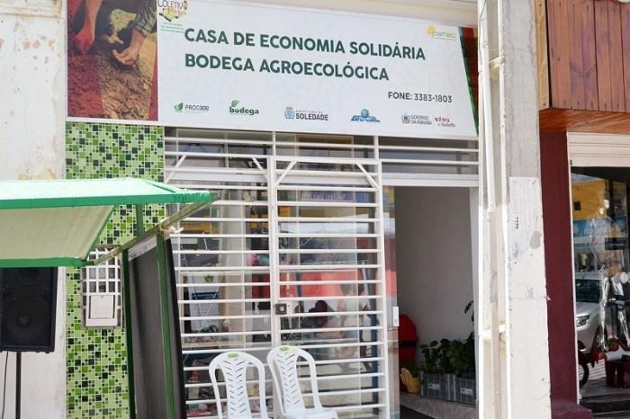 Governo entrega Casa da Economia Solidária para trabalhadores da agricultura familiar em Soledade