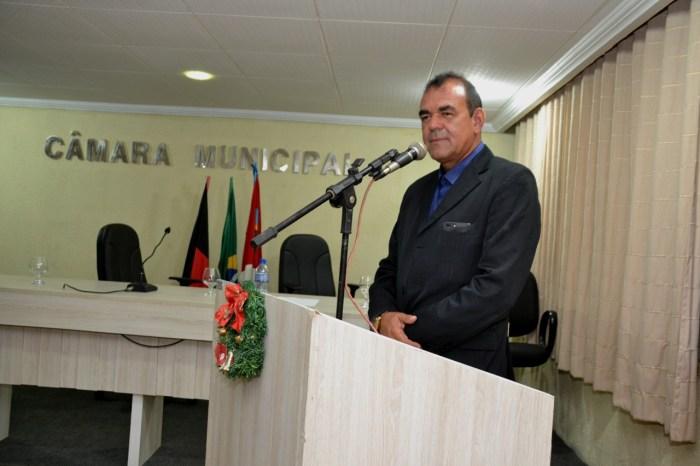 Vice-prefeito afirma que Cajó fará uma grande gestão na Câmara de Monteiro
