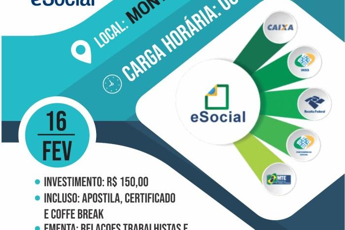 EM MONTEIRO: COMSEGT realizará 1ª Capacitação Sobre o E-social do Cariri paraibano