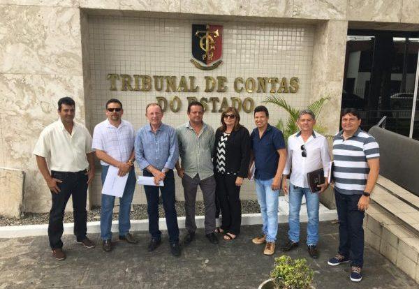 Presidentes de Câmaras do Cariri realizam cadastramento de gestores públicos junto ao TCE