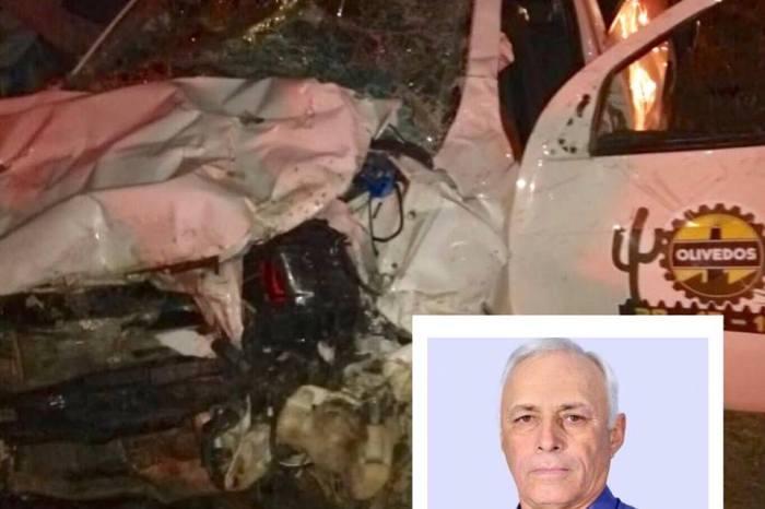 Após acidente, ex-deputado caririzeiro recebe alta e agricultora está em coma induzido