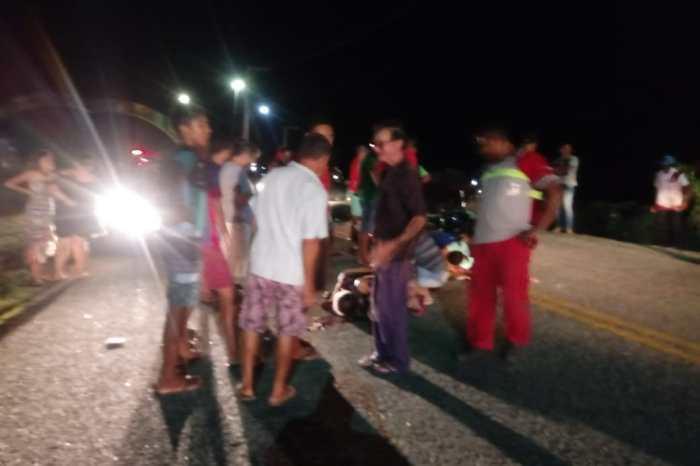 Colisão entre duas motos deixa uma vítima fatal em S. S. do Umbuzeiro