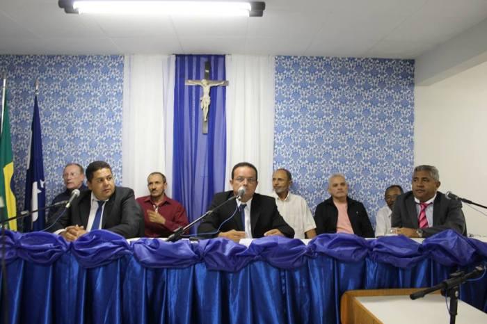 Biênio 2019-2020: Paulo Sérgio de Raquel é reempossado presidente da Câmara de Serra Branca