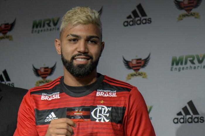 Gabigol tem lesão na coxa e preocupa o Flamengo
