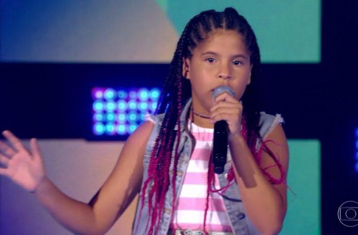 Paraibana é selecionada para próxima etapa do The Voice Kids