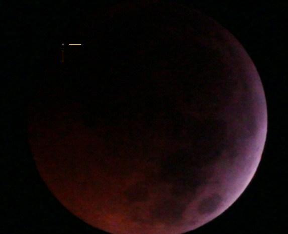 Observadores da PB registram impacto de meteoro durante eclipse