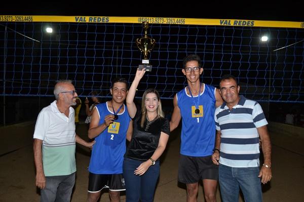 Monteiro realiza mais uma edição do Campeonato de Vôlei de Areia de Duplas e de Quarteto