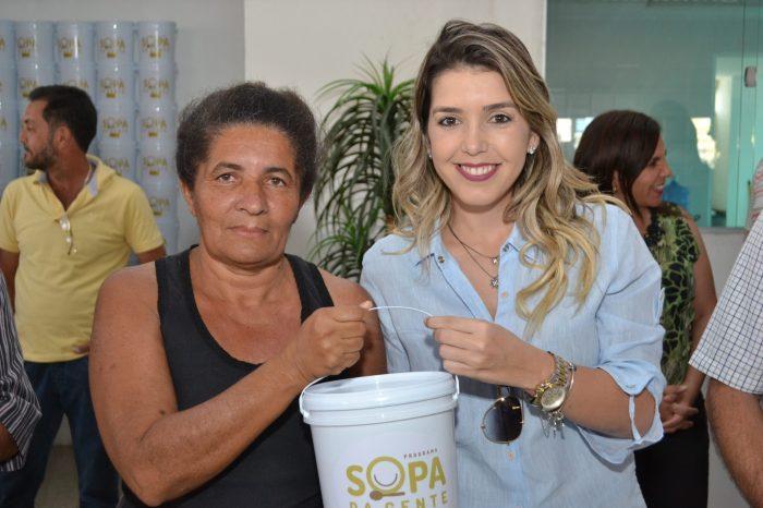 Programa social Sopa da Gente retorna beneficiando famílias carentes em Monteiro