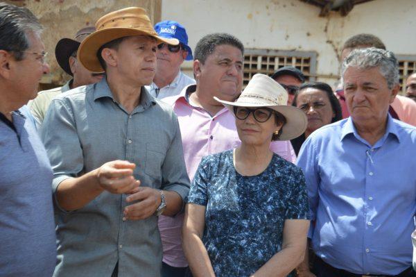 Em visita ao Cariri, Ministra diz que Cabaceiras é referência na gestão de recursos hídricos