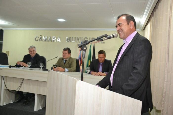 Vice-prefeito representa executivo municipal na abertura dos trabalhos legislativos de Monteiro