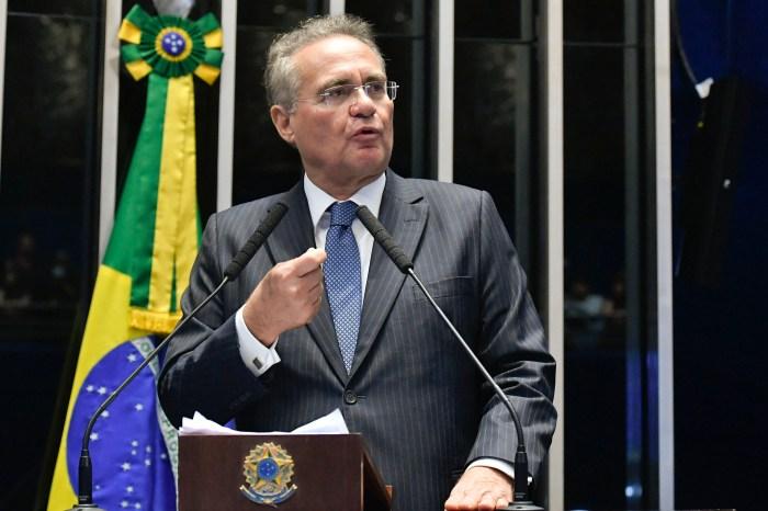 Isolado, Renan desistiu de disputar presidência do Senado