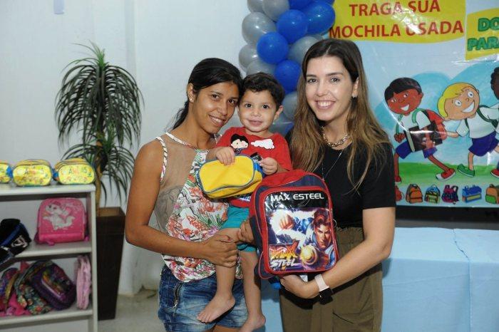 Volta às Aulas Solidária realiza entrega de mochilas à estudantes carentes de Monteiro
