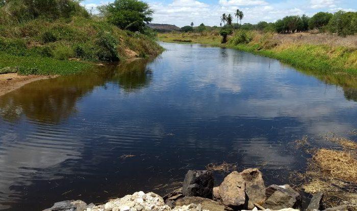 Águas da Transposição chegam a São Domingos do Cariri e se aproximam de Boqueirão