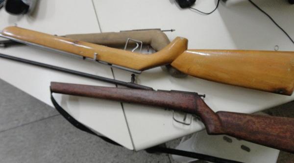 Polícia prende homem por comércio ilegal de armas de fogo em Monteiro