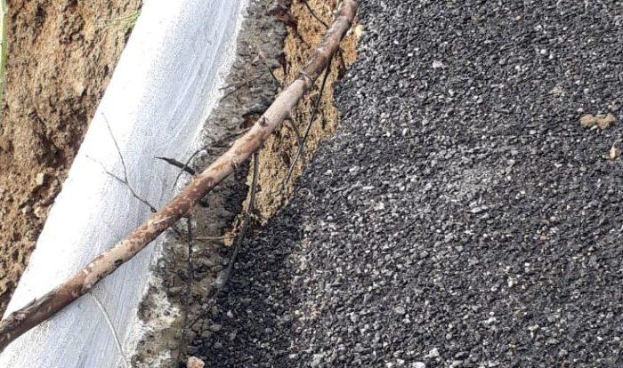 Com chuvas na região, asfalto de rodovia no Cariri cria fissura e preocupa população