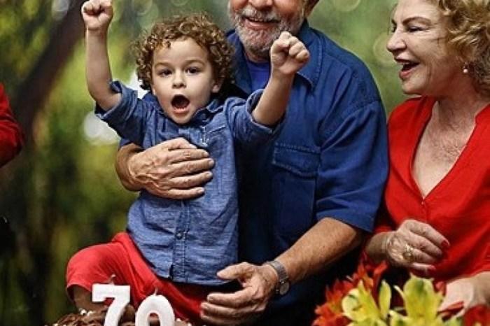 Lula pede à Justiça autorização para ir ao enterro do neto