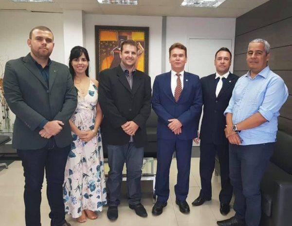 Hélder tem reunião no TJPB em busca de retorno de patrimônio histórico para São J. do Cariri