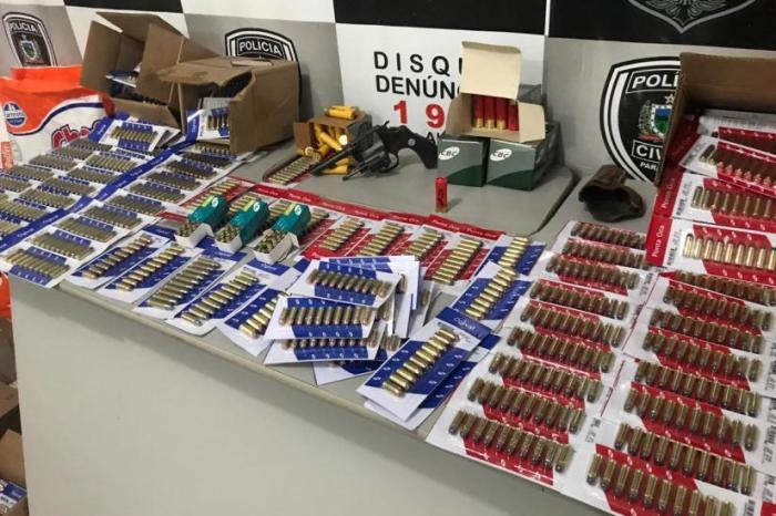 Operação Mercador prende homem com centenas de munições na PB