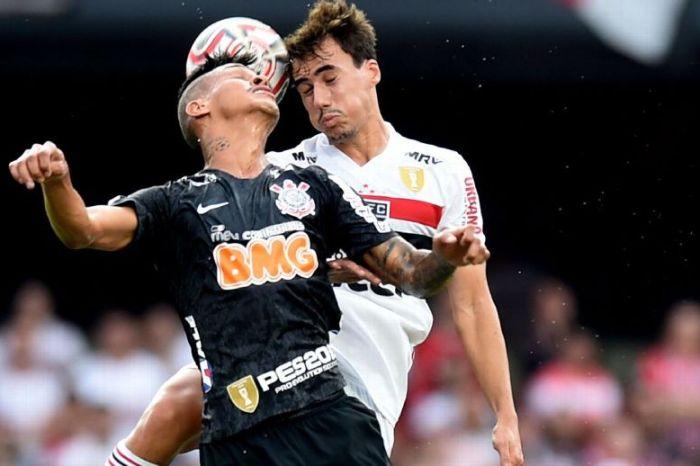 São Paulo e Corinthians ficam no 0 a 0 no jogo de ida da final do Paulista