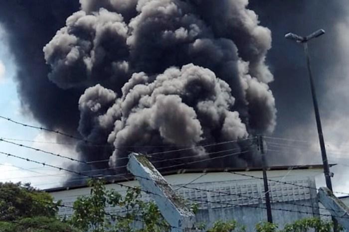 Incêndio destrói fábrica de cordas feitas com material reciclável na PB