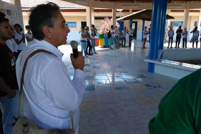 Escola de Pio X em Sumé recebe campo experimental em parceria com o Insa