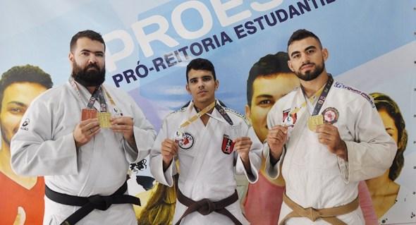 Judocas da UEPB conquistam medalhas de ouro