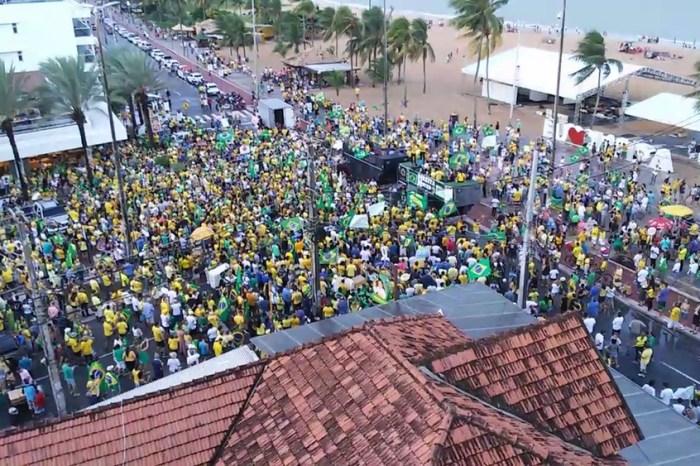 Paraíba registra atos em apoio ao Governo Bolsonaro