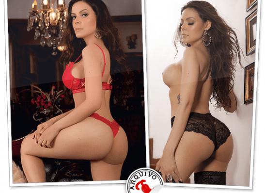 MOÍDOS DA REDAÇÃO: Revista Sexy divulga ensaio com monteirense Anniele Maracajá