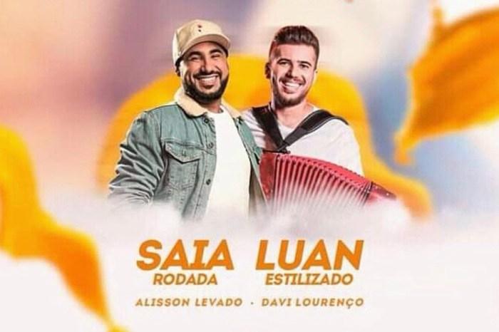 Luan Estilizado e Saia Rodada realizarão show sábado m Sumé