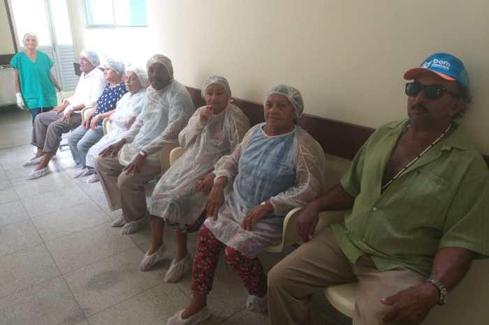 Parceria com Estado: População de cidade do Cariri é beneficiada com cirurgias de catarata