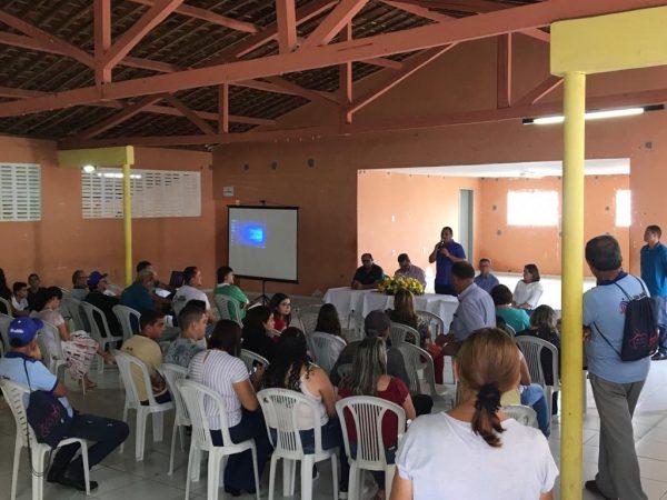 São José dos Cordeiros realiza plenária do OD e elege prioridades para apresentar ao governador