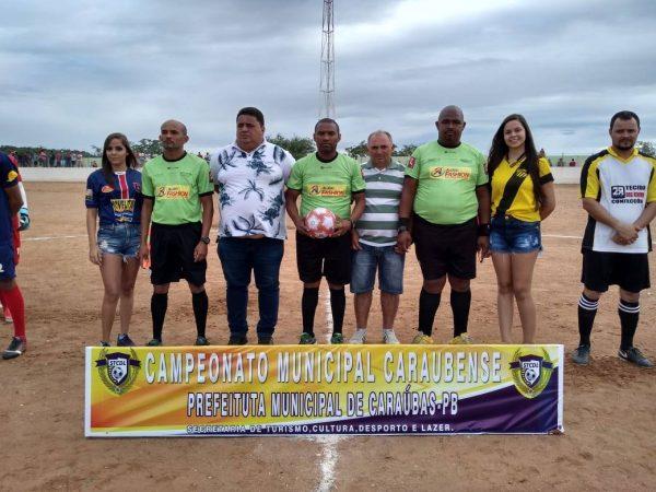 Campeonato Municipal de Futebol tem início na cidade de Caraúbas