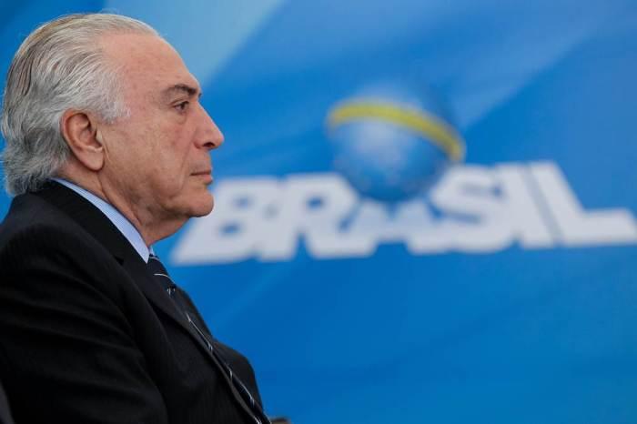 Justiça determina o bloqueio de R$ 32,6 milhões de Temer, Lima e sócio