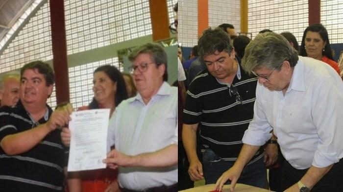 Com empenho do PSB municipal, São João do Cariri é beneficiado com várias ações do Estado