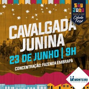 Cavalgada Junina será realizada no próximo domingo na cidade de Monteiro