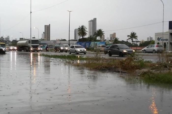João Pessoa registra 47% das chuvas esperadas para junho