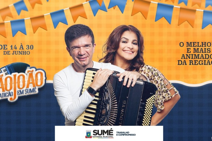 Waldonys e Kátia Cilene embalam forrozeiros neste final de semana em Sumé