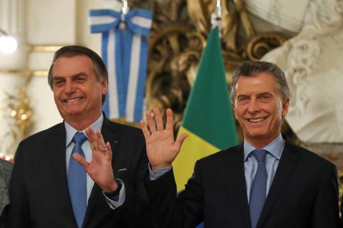 'Houve 1º passo', diz Bolsonaro sobre moeda única Brasil-Argentina