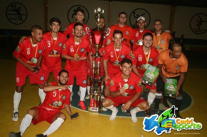 Ponte Preta de Sumé conquista o Bi- campeonato no Futsal