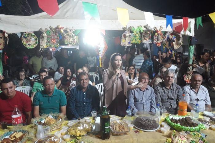 Vereadores prestigiam quadrilha na Rua de Campina e tradicional festa no Brás