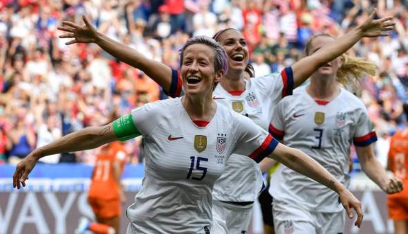 EUA batem Holanda e faturam Copa do Mundo
