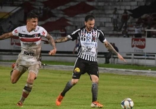 Botafogo-PB sofre empate contra o Santa Cruz-PE e sai do G4