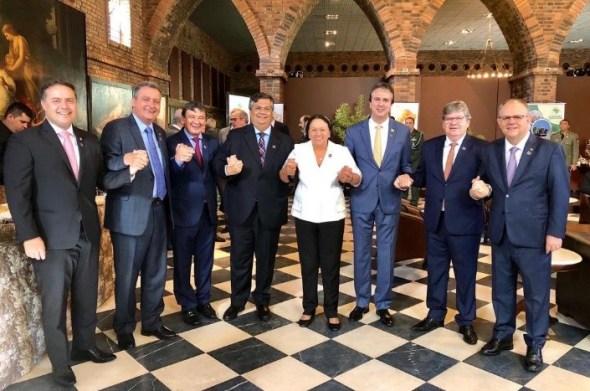 Governadores do Nordeste darão coletiva segunda