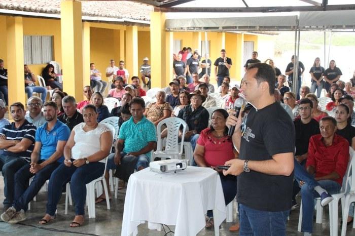 Éden realiza audiências do Orçamento Democrático Municipal em Jurema e Nove Casas
