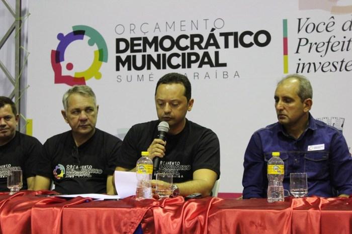 Orçamento Democrático Municipal de Sumé inicia com boa participação popular