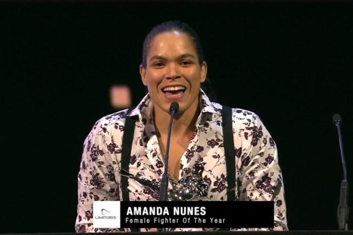 Amanda Nunes brilha e leva três prêmios no Oscar do MMA